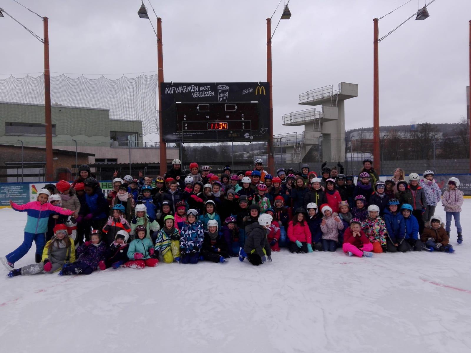 Eislauftag der Grundschule