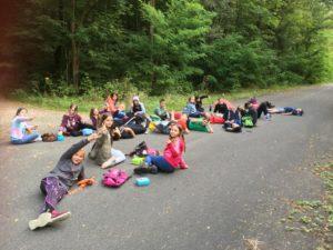 Impressionen vom Wandertag der Mittelschule