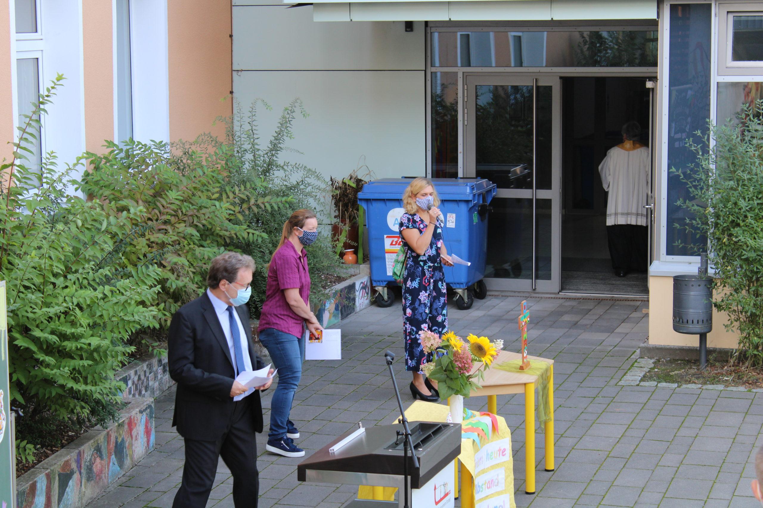 Bilder vom ersten Schultag der ABC Schützen