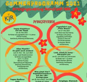 Kreisjugendring Ferienprogramm