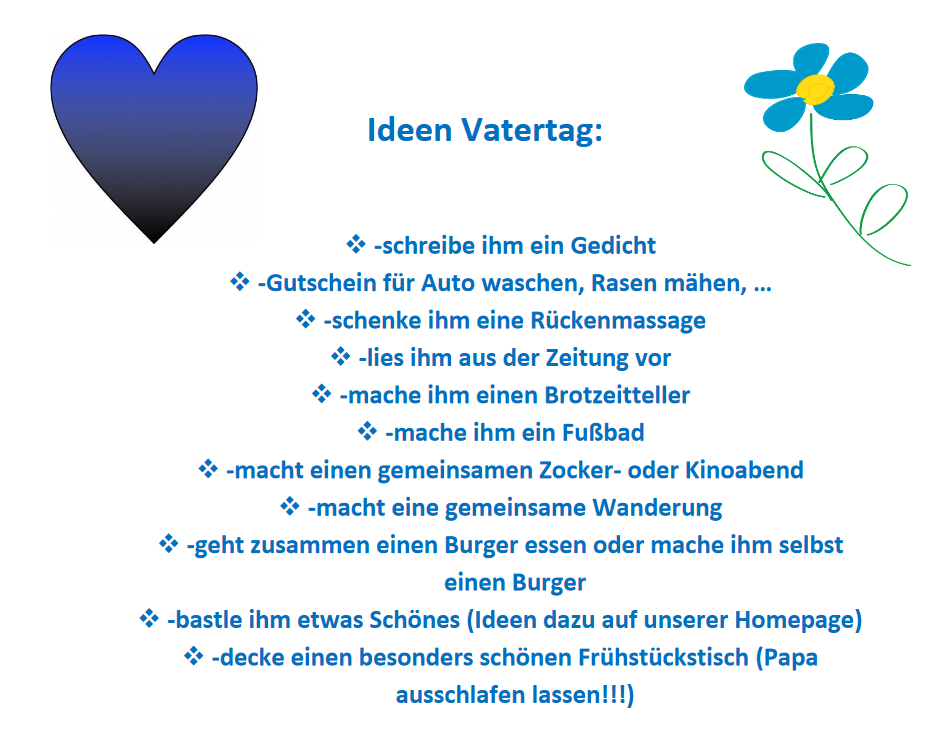 Read more about the article Ideen zum Vatertag
