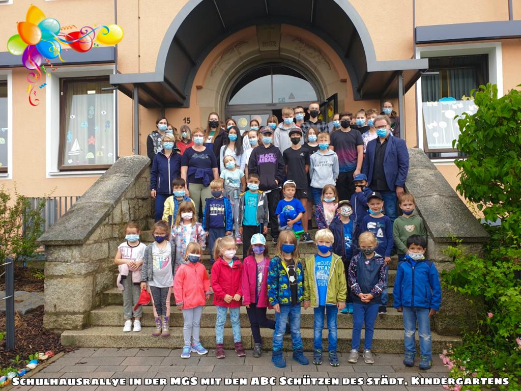 Schulhaus Rallye der ABC-Schützen