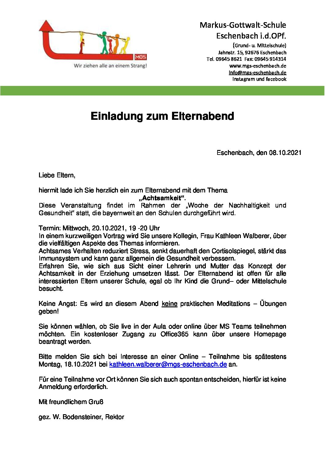 Read more about the article Elternabend